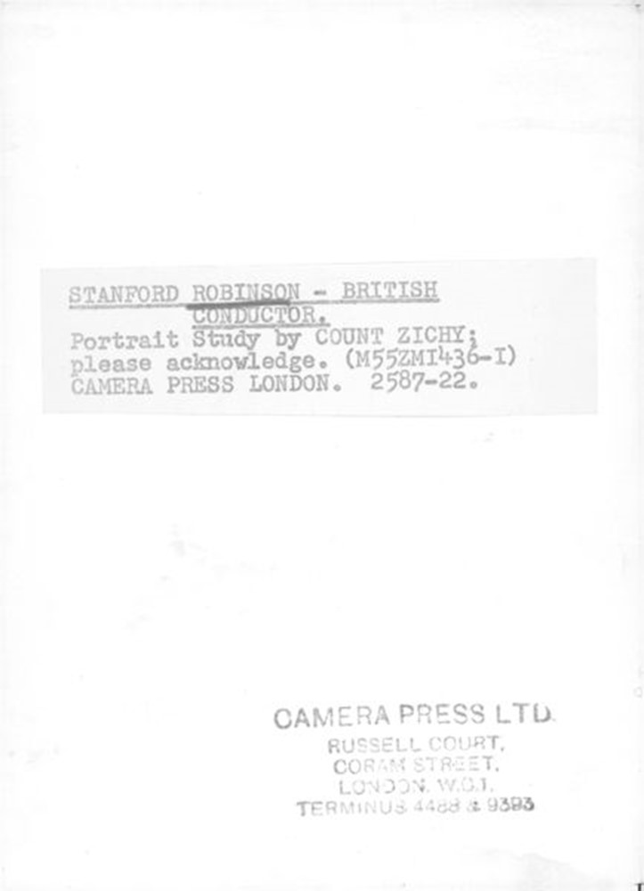 Back of photograph