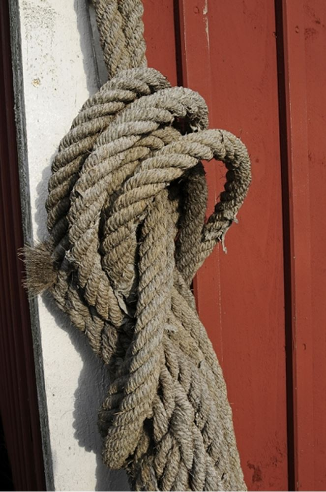 Rope used on boats